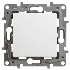 Переключатель 1-кл. белый IP 44