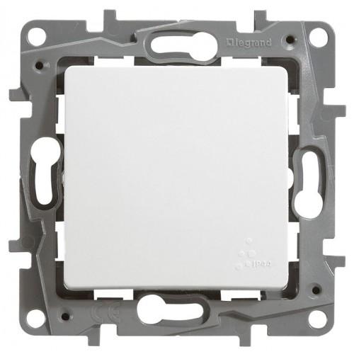 Переключатель 1-кл. белый IP 44  Legrand Etika (672200)