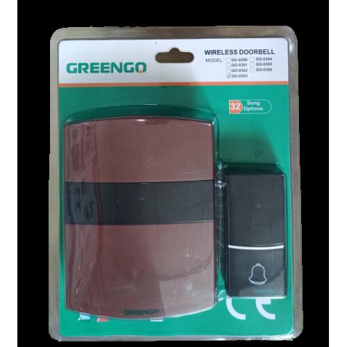 Беспроводной дверной звонок GreenGo     (GO-0303)