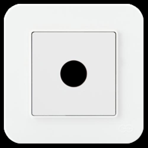Кабельный выход белый Gunsan Radius (01409300-157165)
