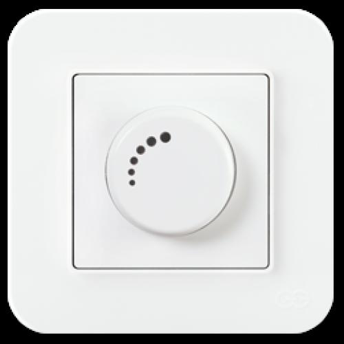 Светорегулятор 1000 Вт белый Gunsan Radius (01409300-160126)