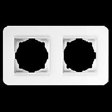 Рамка*2 белая