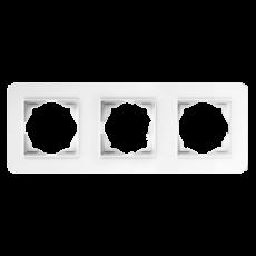 Рамка*3 белая