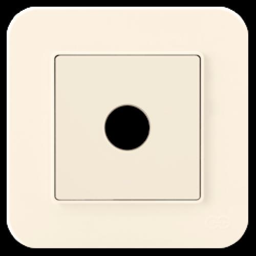 Кабельный выход кремовый Gunsan Radius (01401200-157165)
