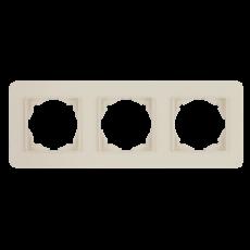 Рамка*3 кремовая