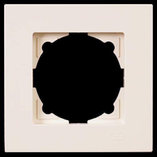 Рамка 1-я кремовая Gunsan Eqona (01401200-000140)