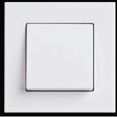 Выключатель 1-кл (без рамки) белый