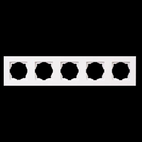 Рамка 5-я белый Gunsan Eqona (01409300-000146)