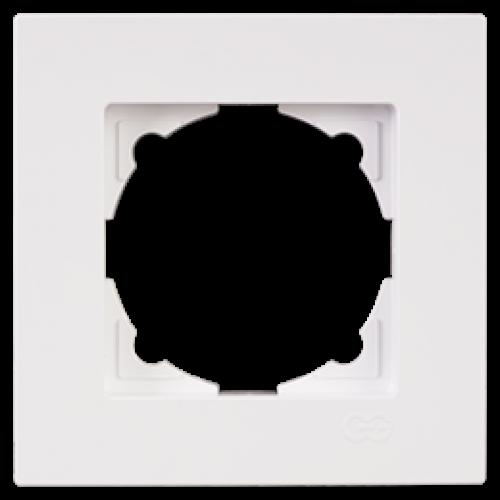 Рамка 1-я белый Gunsan Eqona (01409300-000140)