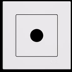 Кабельный выход белый