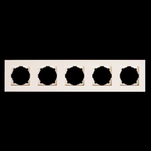 Рамка 5-я кремовый Gunsan Eqona (01401200-000146)