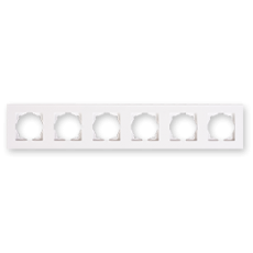 Рамка 6-я белый