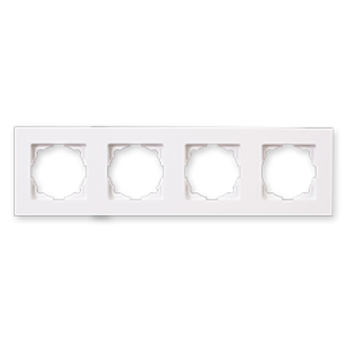 Рамка 4-я белая Gunsan Eqona (01409300-000145)