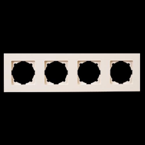 Рамка 4-я кремовая Gunsan Eqona (01401200-000145)