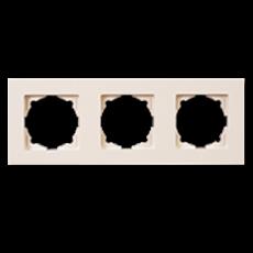 Рамка 3-я кремовый