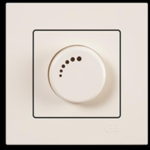 Светорегулятор 1000 Вт кремовый Gunsan Eqona (01401200-160126)