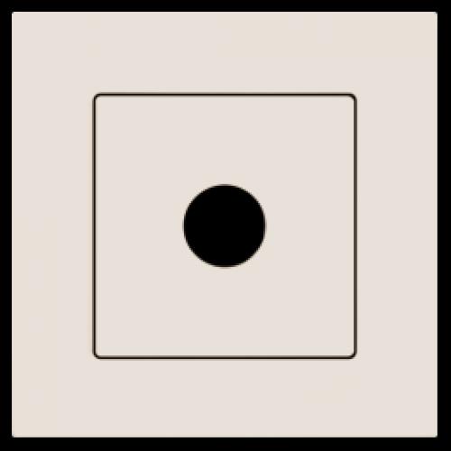 Кабельный выход кремовый Gunsan Eqona (01401200-157165)