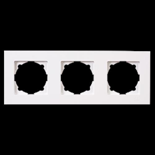 Рамка 3-я белая Gunsan Eqona (01401100-000143)