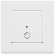 Переключатель промежуточный белый