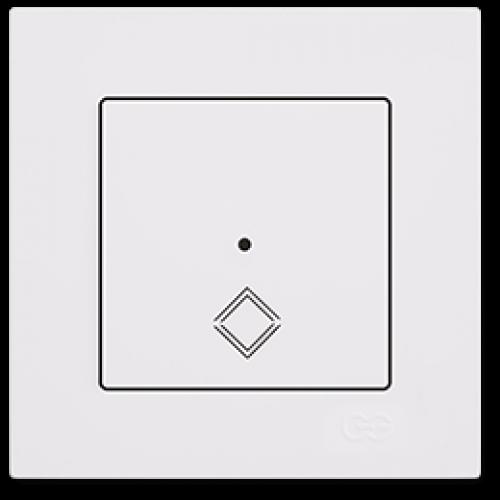 Переключатель промежуточный белый Gunsan Eqona (сенсоры) (01709300-150135)