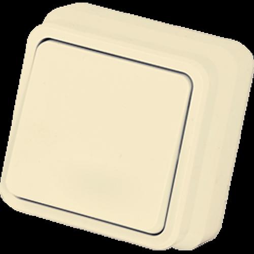 Выключатель 1-кл кремовый Gunsan Misya (01 05 12 00 100 101)