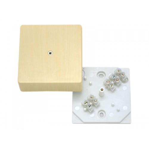 Коробка разветвительная для открытой установки с клеммником Hegel     (КРК2702 0201-и)