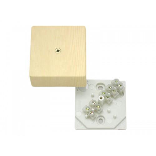 Коробка разветвительная для открытой установки с клеммником Hegel     (КРК2701 0201-и)