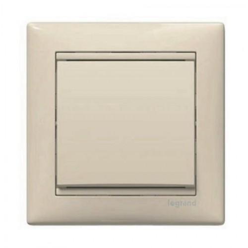 Кнопка звонка кремовый (без рамки) Legrand Valena Classic (774311)