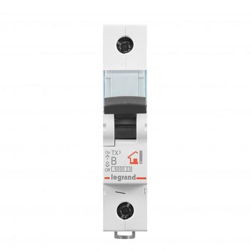 Автоматический выключатель 1P 6A хар-ка B 6kA  Legrand ТХ3 (403969)