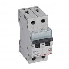Автоматический выключатель 2P 10A хар-ка B 6kA