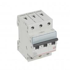 Автоматический выключатель 3P 16A хар-ка B 6kA