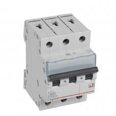 Автоматический выключатель 3P 20A хар-ка B 6kA