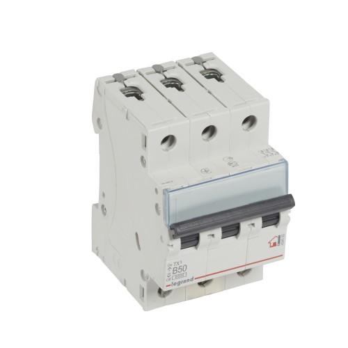 Автоматический выключатель 3P 50A хар-ка B 6kA Legrand ТХ3 (404005)