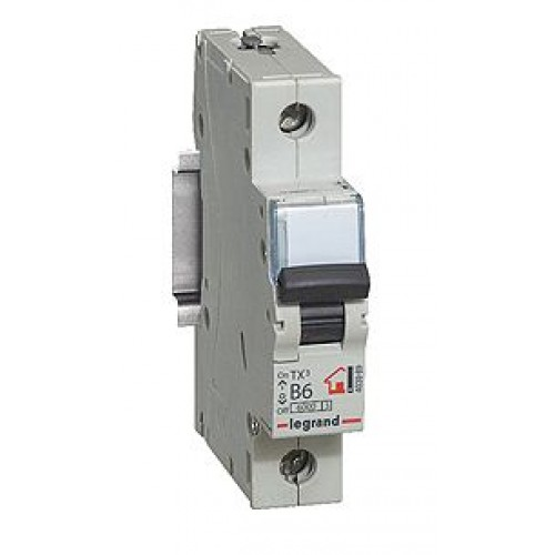 Автоматический выключатель 1P 10A хар-ка C 6kA  Legrand ТХ3 (404026)