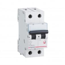 Автоматический выключатель 2P 10A хар-ка C 6kA