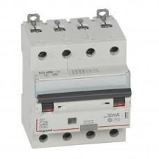 Дифференциальный автомат электромеханический 4P 25A хар-ка C 6kA 30mA тип AC