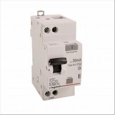 Дифференциальный автомат электронный 1P+N 20A хар-ка C 6kA 30mA тип AC