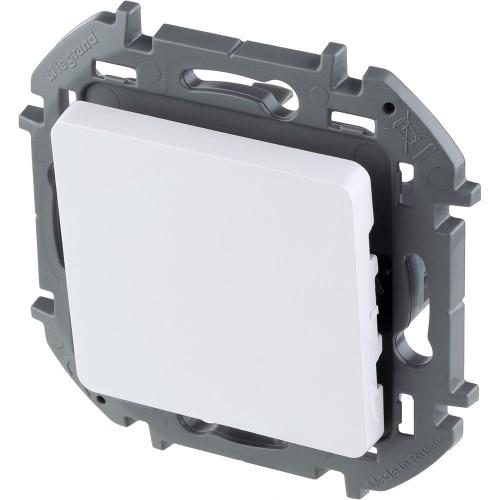 Выключатель одноклавишный 10 AX 250 В~ белый Legrand Inspiria (673600)