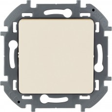 Выключатель одноклавишный 10 AX 250 В~ слоновая кость