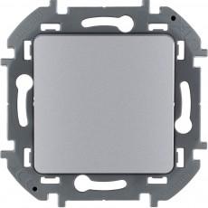 Переключатель одноклавишный 10 AX 250 В~ алюминий