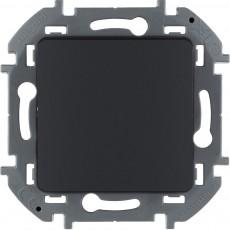 Переключатель одноклавишный 10 AX 250 В~ антрацит