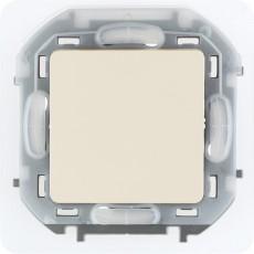 Переключатель IP44 10 AX 250 В~ слоновая кость