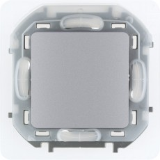 Переключатель IP44 10 AX 250 В~ алюминий