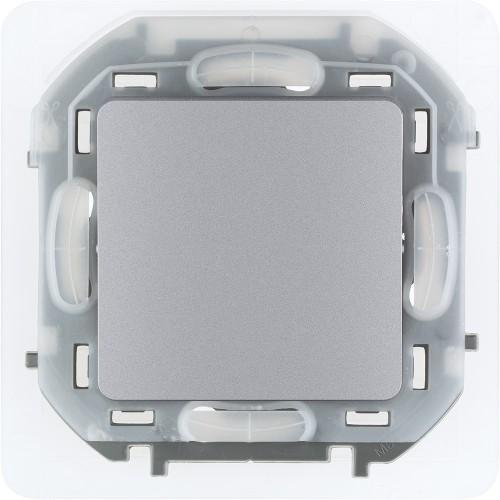 Переключатель IP44 10 AX 250 В~ алюминий Legrand Inspiria (673672)