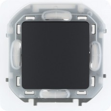 Переключатель IP44 10 AX 250 В~ антрацит