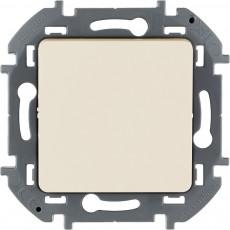 Переключатель без фиксации (кнопка) с Н.О./Н.З. контактом 6 A 250 В~ слоновая кость