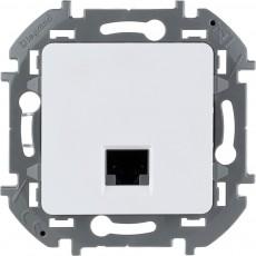Информационная розетка RJ 45 категория 6 UTP белый