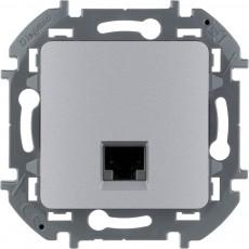 Информационная розетка RJ 45 категория 6 UTP алюминий