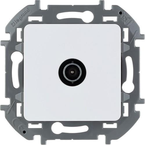 Розетка TV проходная 14 дБ 5-862 мГц белый Legrand Inspiria (673860)