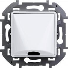Вывод кабеля с зажимом для крепления белый
